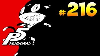 Persona 5 ► запись стрима #216 (30.08.2019)