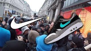 Crazy Atmos Air Max 1 Queue Nike LDN & Unboxing Atmos Elephant 2017