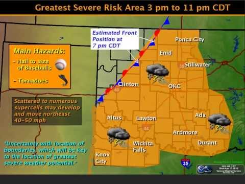 Severe Weather Update - 9:00 AM Wed Apr 17, 2013
