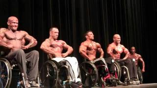1st ifbb pro bodybuilding wheelchair champion harold kelley