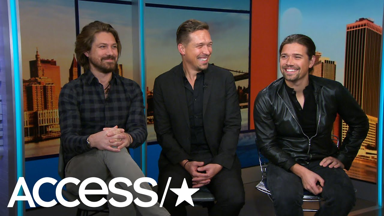 Hanson Brothers Look Back At Mmmbop 20 Years Later Access Youtube