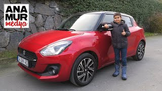 Suzuki Swift Mild Hybrid 2021 Baba Oğul Test