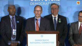Democrats elect Tom Perez as chairman to lead them into battle against Trump