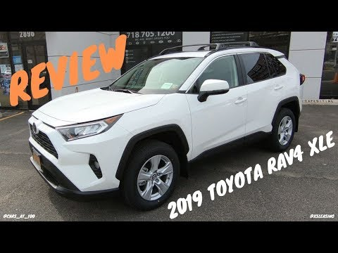 2019 TOYOTA RAV4 XLE REVIEW -- BETTER OFFROAD SUV THAN LEXUS NX300 ?!