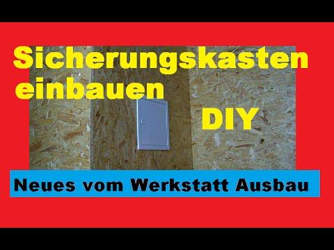 Sicherungskasten, Unterverteiler, Unterputz verteiler einbauen, DIY ...