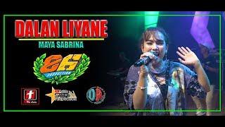 Download DALAN LIYANE - MAYA SABRINA - OM MG 86 LIVE MARON| SMS PRO AUDIO