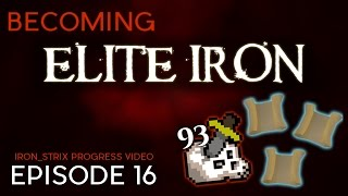 93 Slayer, Occult Hunt, and Lots of Clues  - Becoming Elite Iron #16 - OSRS Ironman Progress Series