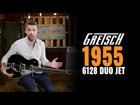 1955 Gretsch 6128 Duo Jet Guitar Demo
