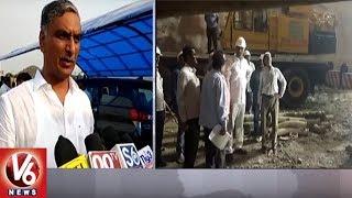 Minister Harish Rao Inspects Kaleshwaram Package 07 Works At Karimn...