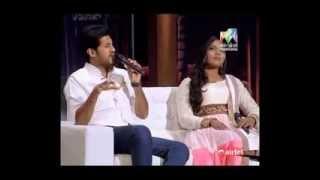 [ENG SUB] Onnum Onnum Moonu - Vijay Yesudas and Sayanora 2/6