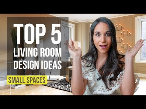 Top 5 Interior Design Ideas and Home Decor for Small Living Room