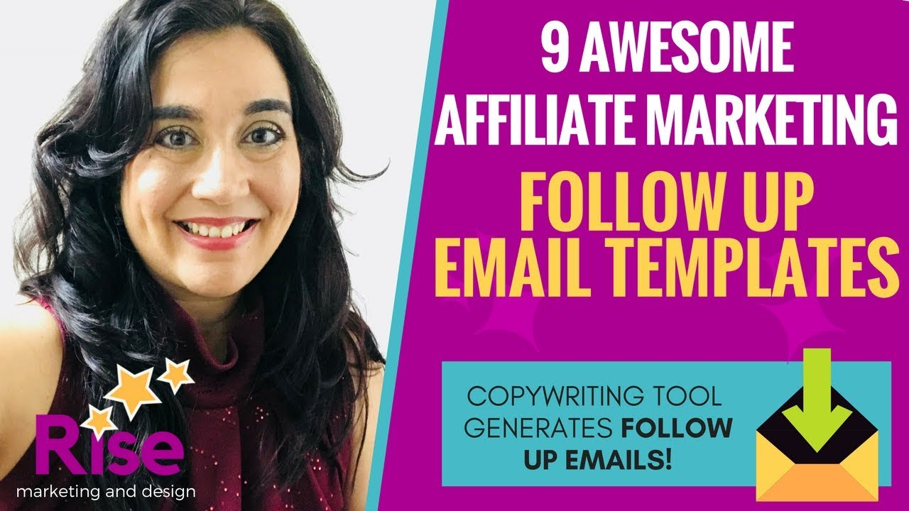 9 AWESOME 'Affiliate Marketing' Email Follow-Up Templates | Copywriting  Follow-Up Email Generator