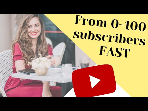 How to Get 100 Subscribers on Youtube in 2020 As a Small Youtuber 🌟