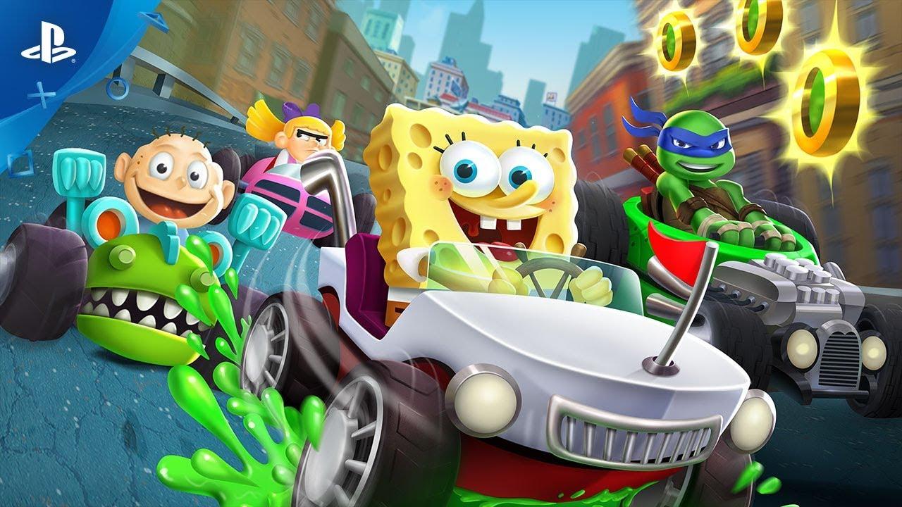 Nickelodeon Kart Racers Game   PS4 - PlayStation