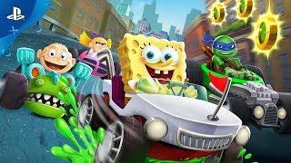 Nickelodeon Kart Racers - Announce Trailer | PS4