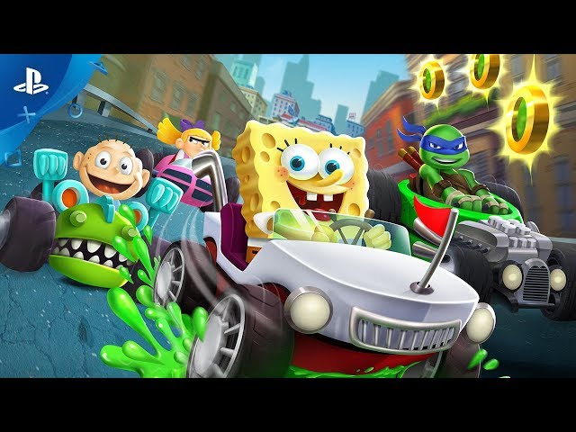Nickelodeon Kart Racers - Announce Trailer | PS4