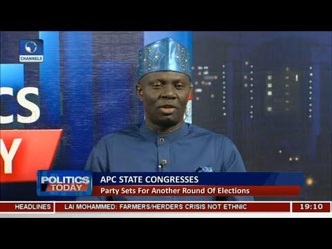 Crisis In APC Premeditated - Kassim Afegbua Pt 1   Politics Today  