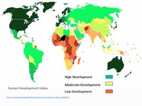 GCSE Geography OCR B Revision- Economic Development