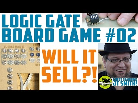 Logic Gate Board Game 02: Interface, Expert Advice, and LCDs