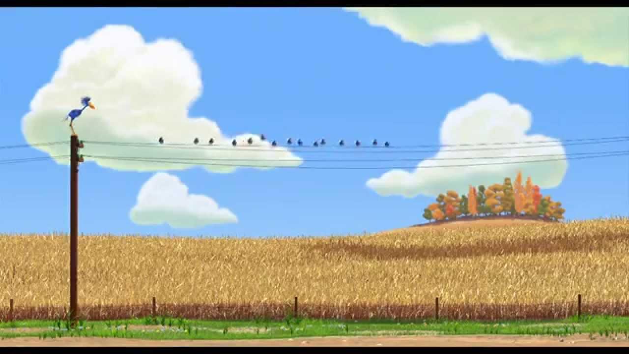 Court-métrage Disney•Pixar - Drôles d'oiseaux sur une ligne à haute tension I Disney