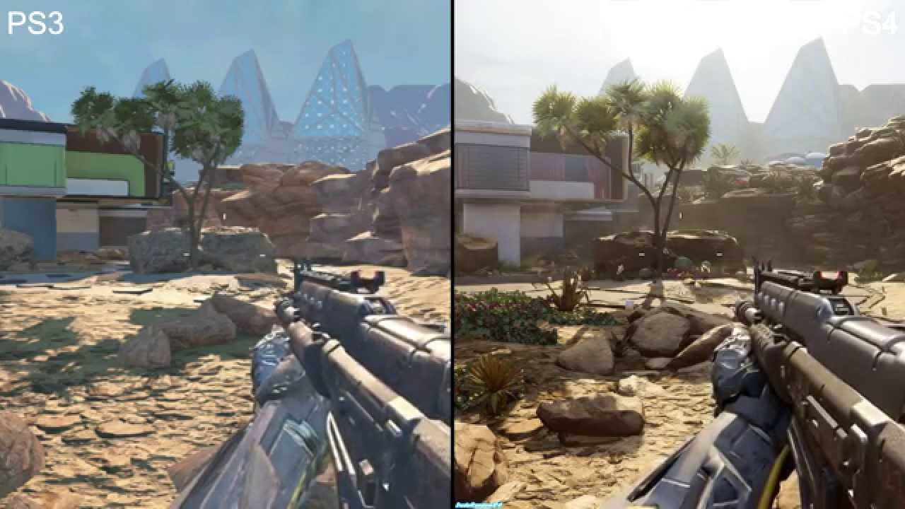 Call of duty:black ops 3 ps3 vs ps4 graficos - YouTube