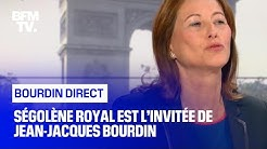 Ségolène Royal face à Jean-Jacques Bourdin en direct