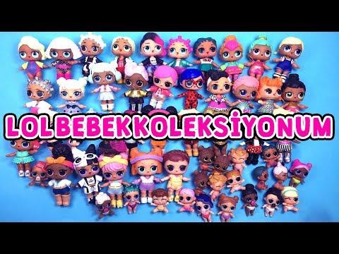 LOL Bebek Koleksiyonum - LOL Confetti POP Pets Lil Sisters ve Glitter Sürpriz Bebekleri