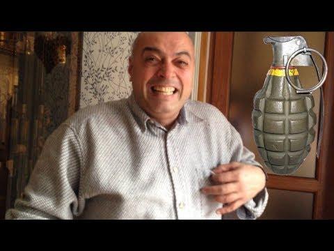 Анекдот: Сын из армии принес лимонку / Смешной анекдот!