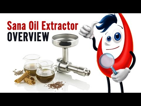 Sana Oil Extractor EUJ-702 (seed and nut attachment)