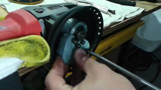 Troca do Kit eixo/rolamento da Roto Kers 21 ou Roto Kers