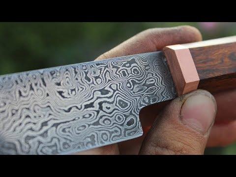 Knifemaking ~ Damascus