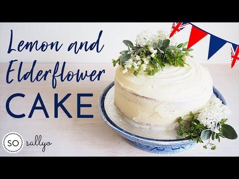 THE ROYAL WEDDING CAKE | How to Bake a Lemon and ...