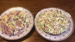 ДВА  Самых вкусных и Быстрых  САЛАТА с  Кукурузой  на Праздничный стол.