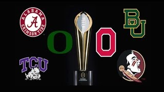 2017 Way Too Early College Football Playoff Predictions