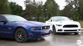 Old vs New Mustang GT Head to Head Review!