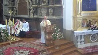 Misje parafialne - jubileusz małżonków, 10 września 2017, godz. 12.00
