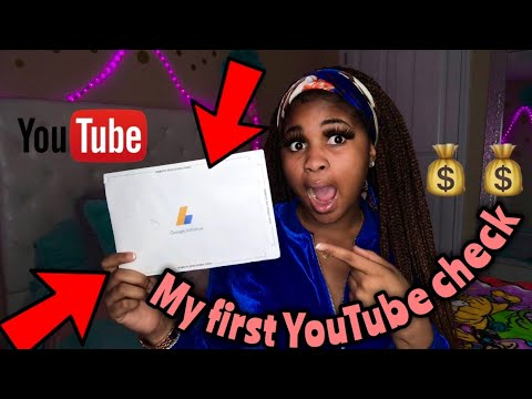 My first YouTube paycheck + how to make fast cash on YouTube in 2019