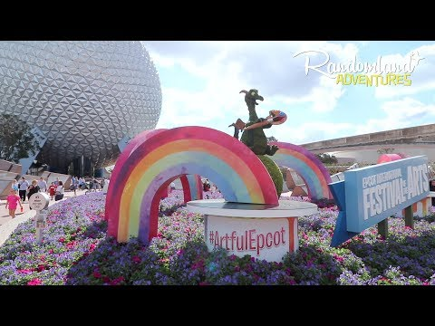 EPCOT International FESTIVAL of the ARTS! Plus Frozen ever After!