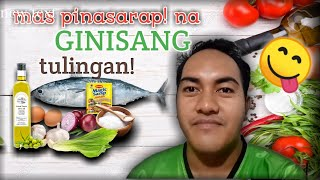 HOW TO COOK GINISANG FISH WITH PETCHAY