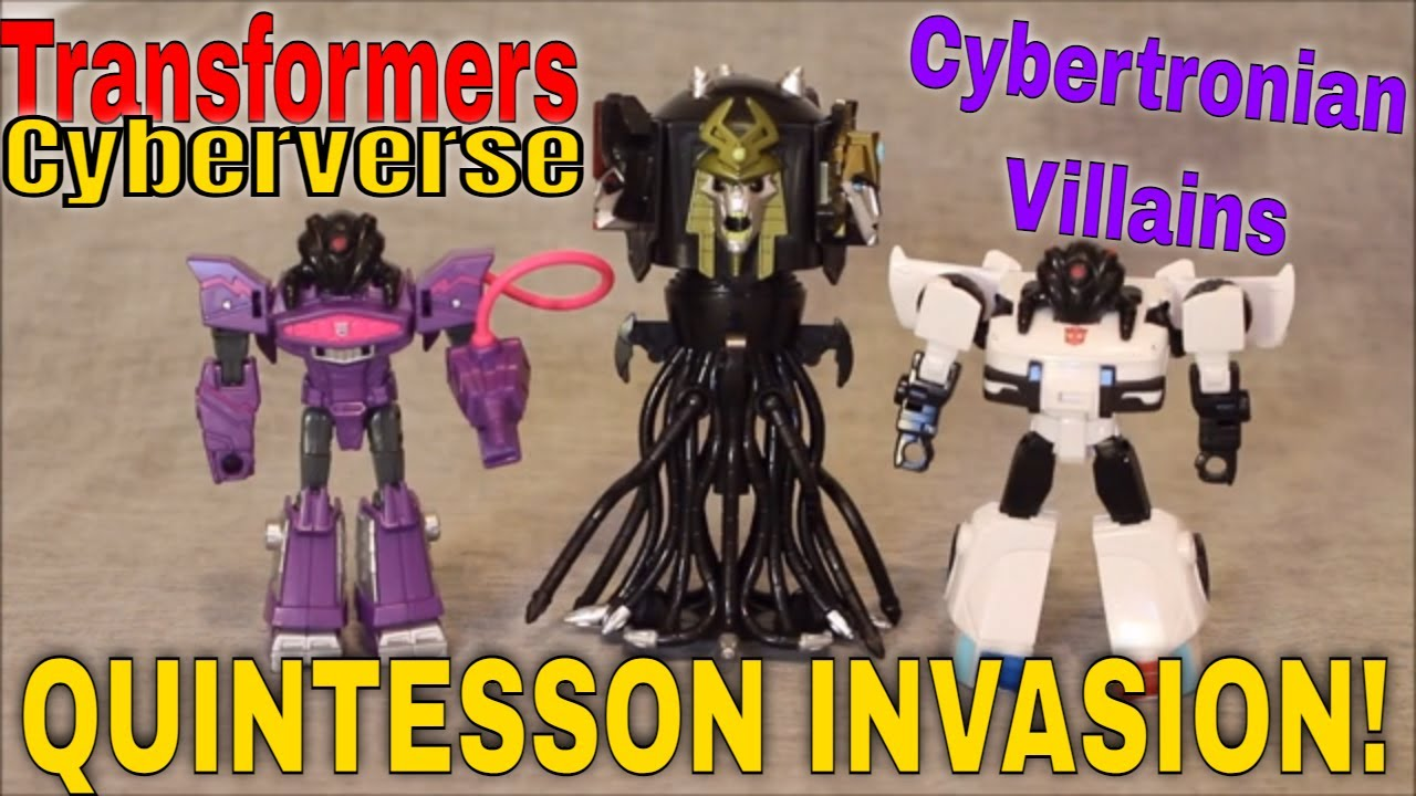 IT'S AN INVASION!!: Transformers Cyberverse Quintesson Invasion by GotBot