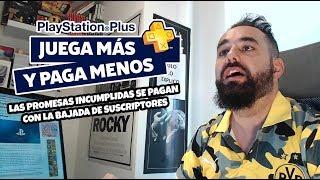 PLAYSTATION PLUS pierde 300.000 Suscriptores SONY DEBE REFLEXIONAR Y HACER ALGO YA