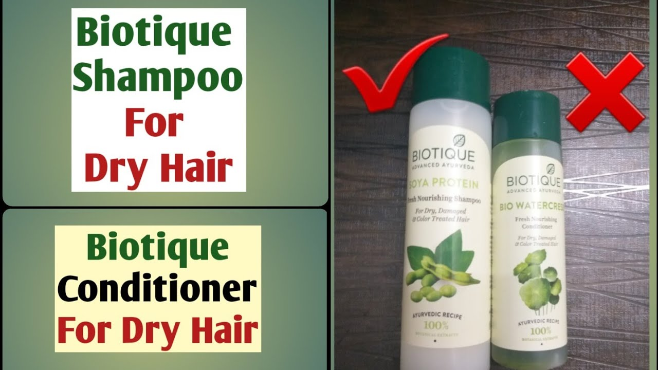 Biotique Shampoo For Dry Damaged Color Treated Hair Biotique