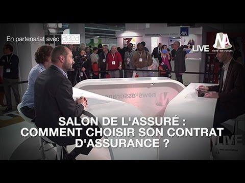 Émission spéciale Salon de l'Assuré : Comment choisir son contrat d'assurance ?