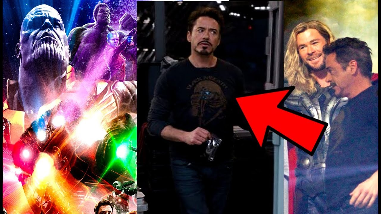 Infinity War MAJOR NEWS - Tony Stark & Thor Will Time Travel Back to The Avengers In Avengers 4?