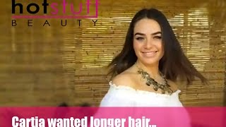 Cartia Mallan Gets Hair Extensions @ Hot Stuff Beauty Thumbnail