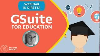 Gsuite for education - Come condividere materiali con la classe