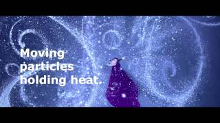 Frozen conduction, convection, and radiation