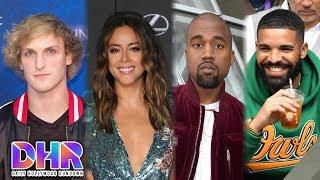 Logan Paul ADDRESSES Chloe Bennet Breakup Rumors - Kanye ASKS Drake for FORGIVENESS (DHR)