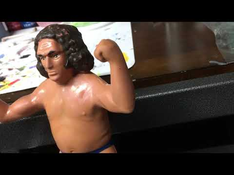 WWF LJN Andre the Giant Cleaning and Repaint