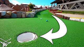 I CAN'T BELIEVE THEY DID THIS AT THIS MINI GOLF COURSE! - BACK TO BACK